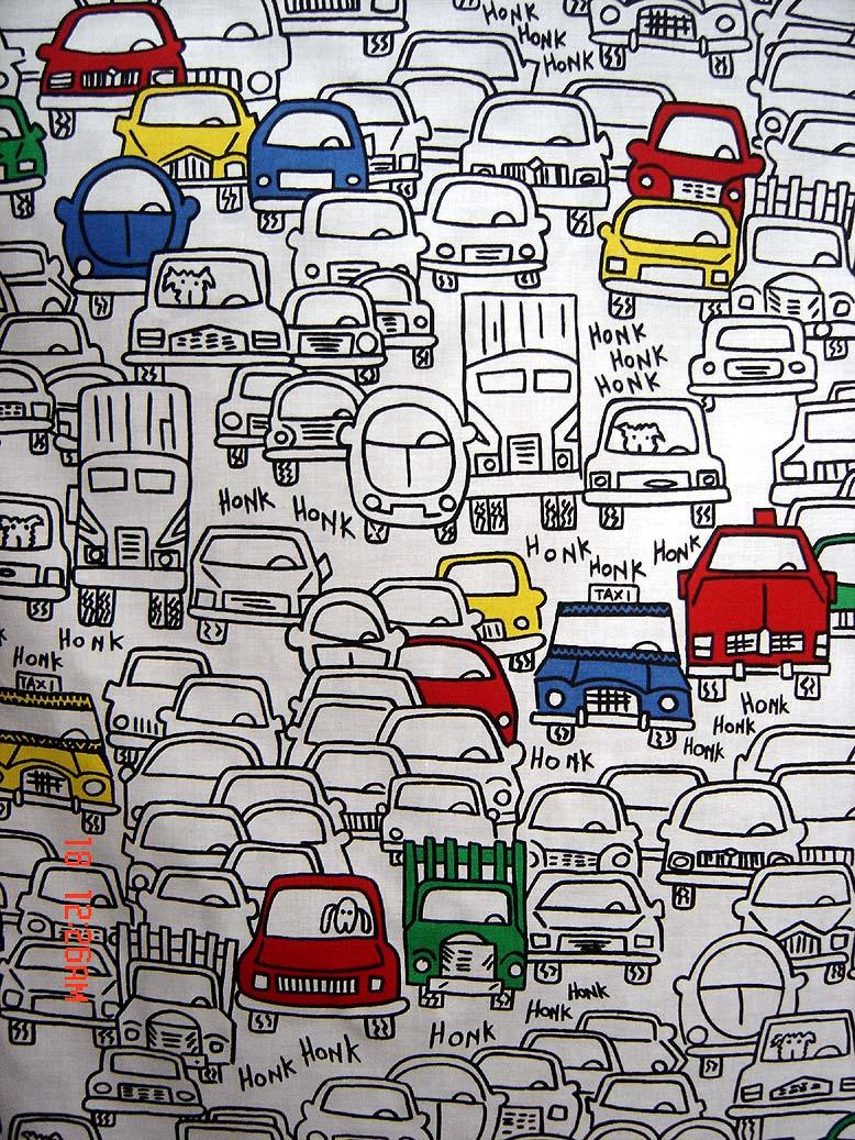 Cartoon Traffic Jam