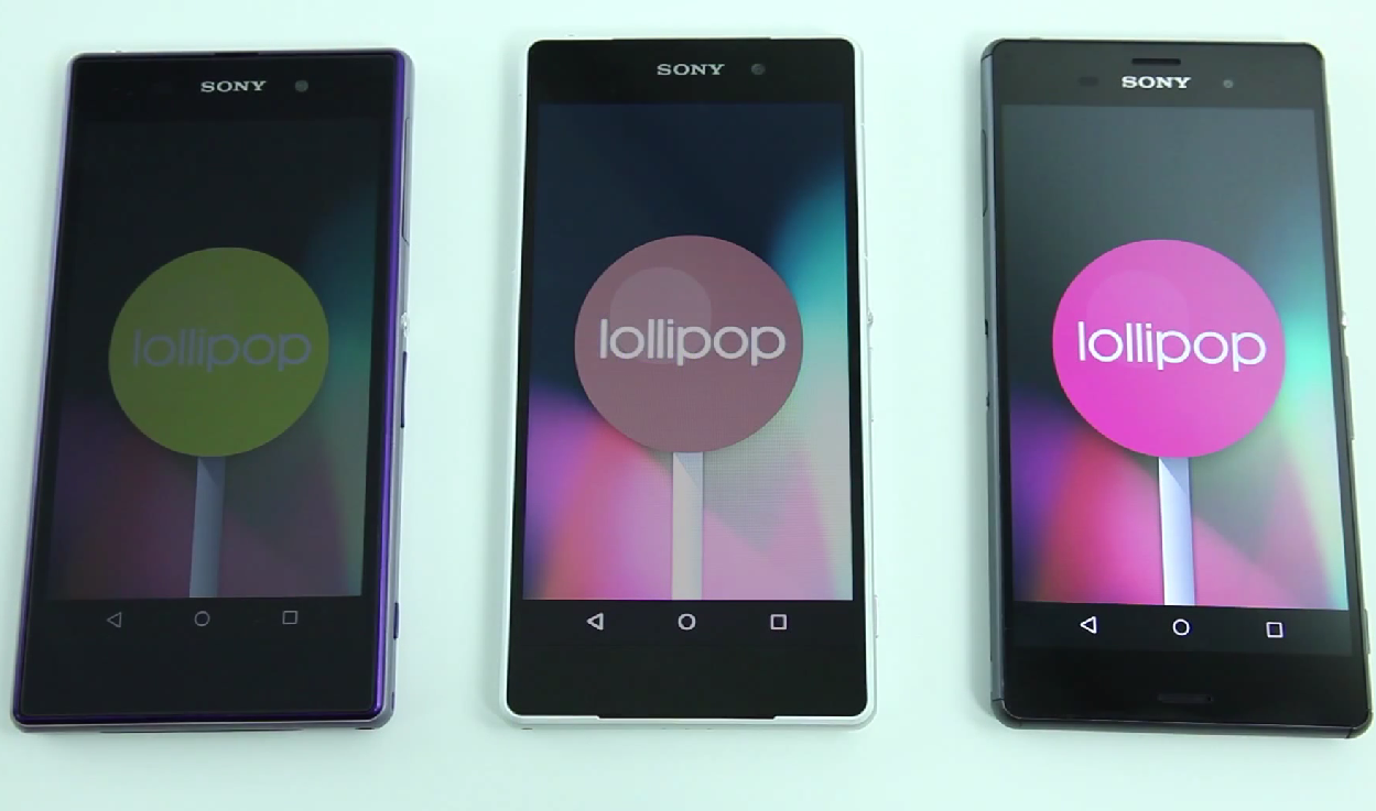 No Lollipop For Non-Xperia Z Devices, Sony