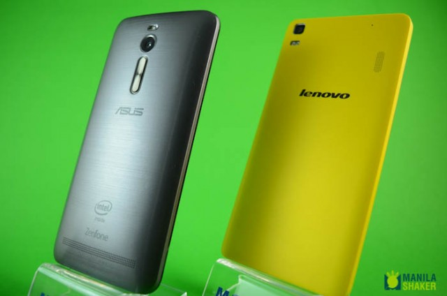 Asus Zenfone 2 Vs Lenovo K3 Note Vs A7000 Plus Specs