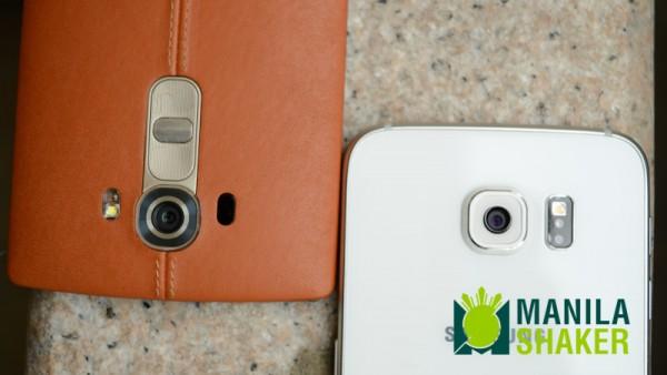 LG G4 dual LTE vs Samsung Galaxy S6