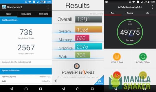 sony xperia z3+ z4 review benchmark battery ui (2 of 3)