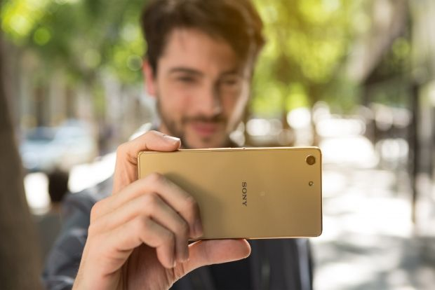 sony xperia m5 gold color review