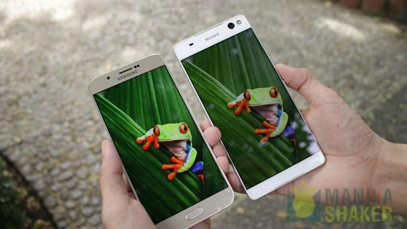 Kindle Vs Sony Reader: Samsung Galaxy A8 Vs Sony Xperia C5 Ultra Comparison
