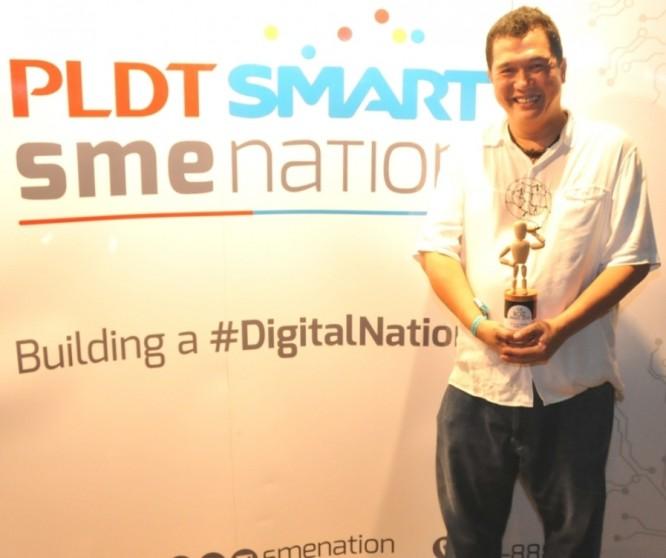 Jay bernadro PLDT smart sme nation bozz awards philippines