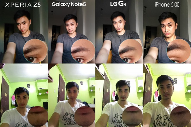 xperia z5 lg g4 iphone 6s galaxy note 5 camera review comparison6
