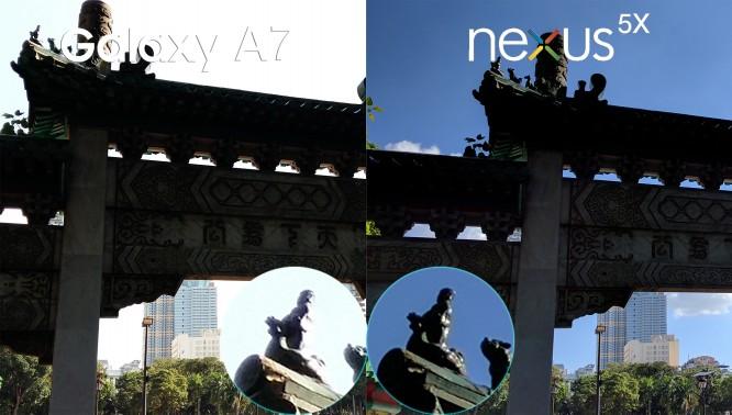 Samsung Galaxy A7 VS LG Nexus 5X comparison philippines