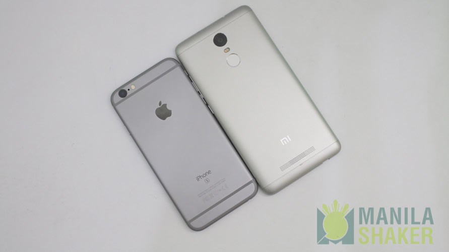 Iphone 6 Vs Xiaomi Redmi Note 5