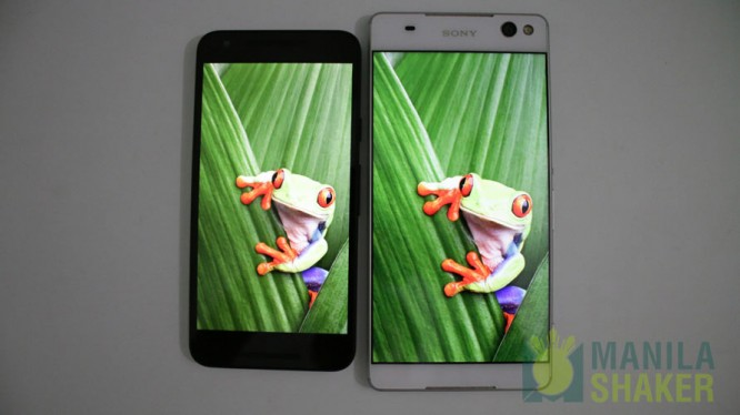 xperia c5 ultra vs lg nexus 5x comparison camera review1