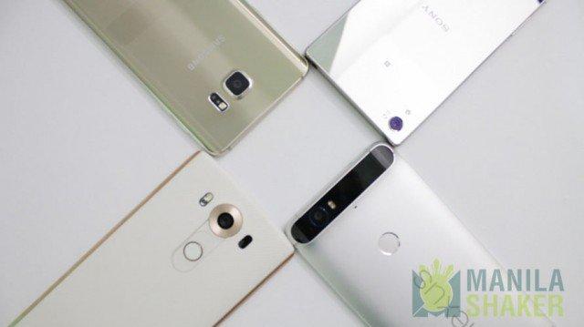 Sony Xperia Z5 Premium galaxy Note 5 LG V10 Nexus 6P stereo speakers high res hifi audio 24bit dac