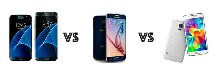 Samsung galaxy s5 s6 s7 image specs comparison philippines