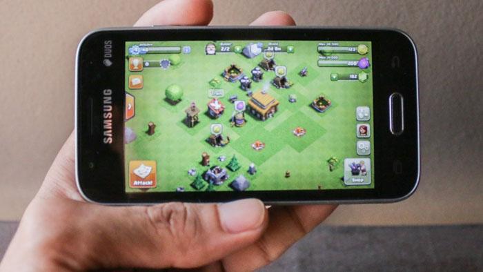 clash of clan coc Samsung Galaxy J1 Mini Review PH16