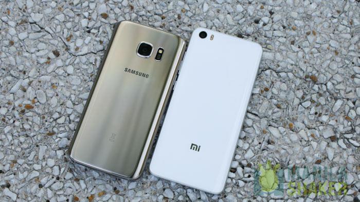 Samsung Galaxy S7 vs Xiaomi Mi 5 Ultimate Camera Comparison Review Speed Test PH 1