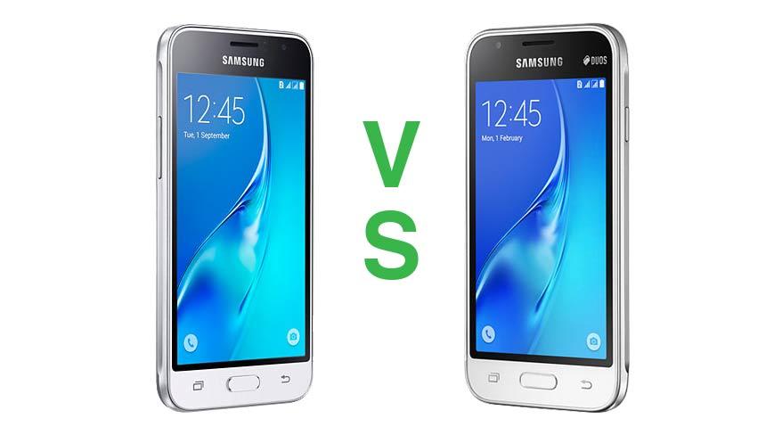 Samsung Galaxy J1 2016 Vs Galaxy J1 Mini Specs Price
