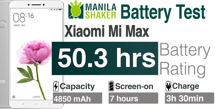 Xiaomi MI Max Battery Life Review Charging