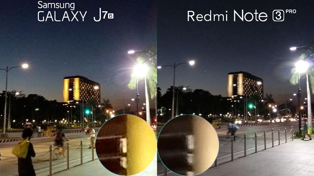 Samsung Galaxy J7 2016 Vs Xiaomi Redmi Note 3 Pro Camera