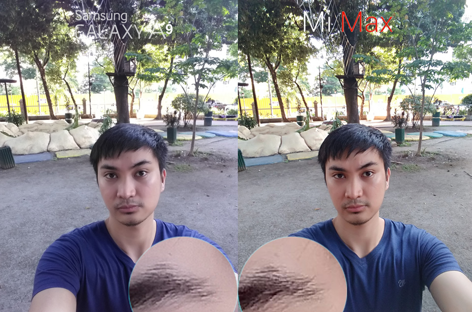Xiaomi Mi Max Vs Samsung Galaxy A9 Pro Camera Review 7