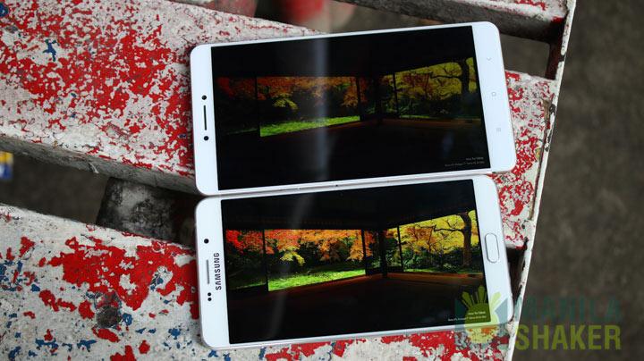 Xiaomi Mi Max vs Samsung Galaxy A9 Pro Review Comparison 8