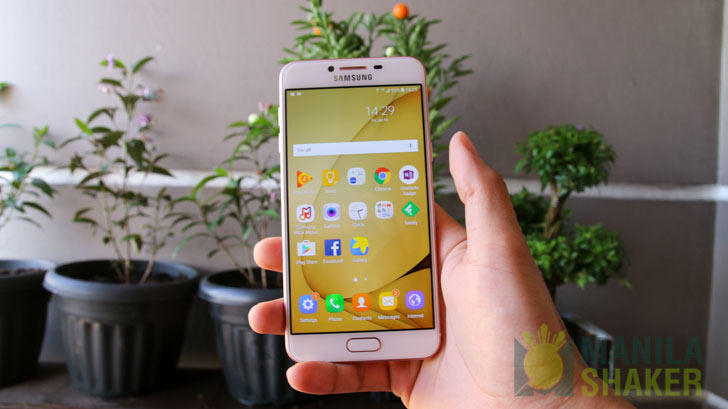 Samsung Galaxy C5 Unboxing Review Hands on Impression Ph 7