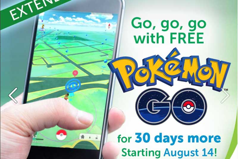 Pokemon Go Free Data Smart Philippines