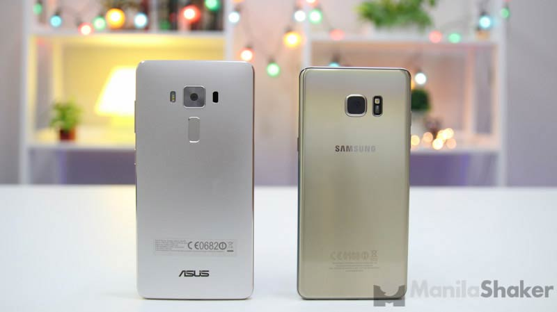 Asus Zenfone 3 Deluxe Vs Samsung Galaxy Note 7 2 Of 8