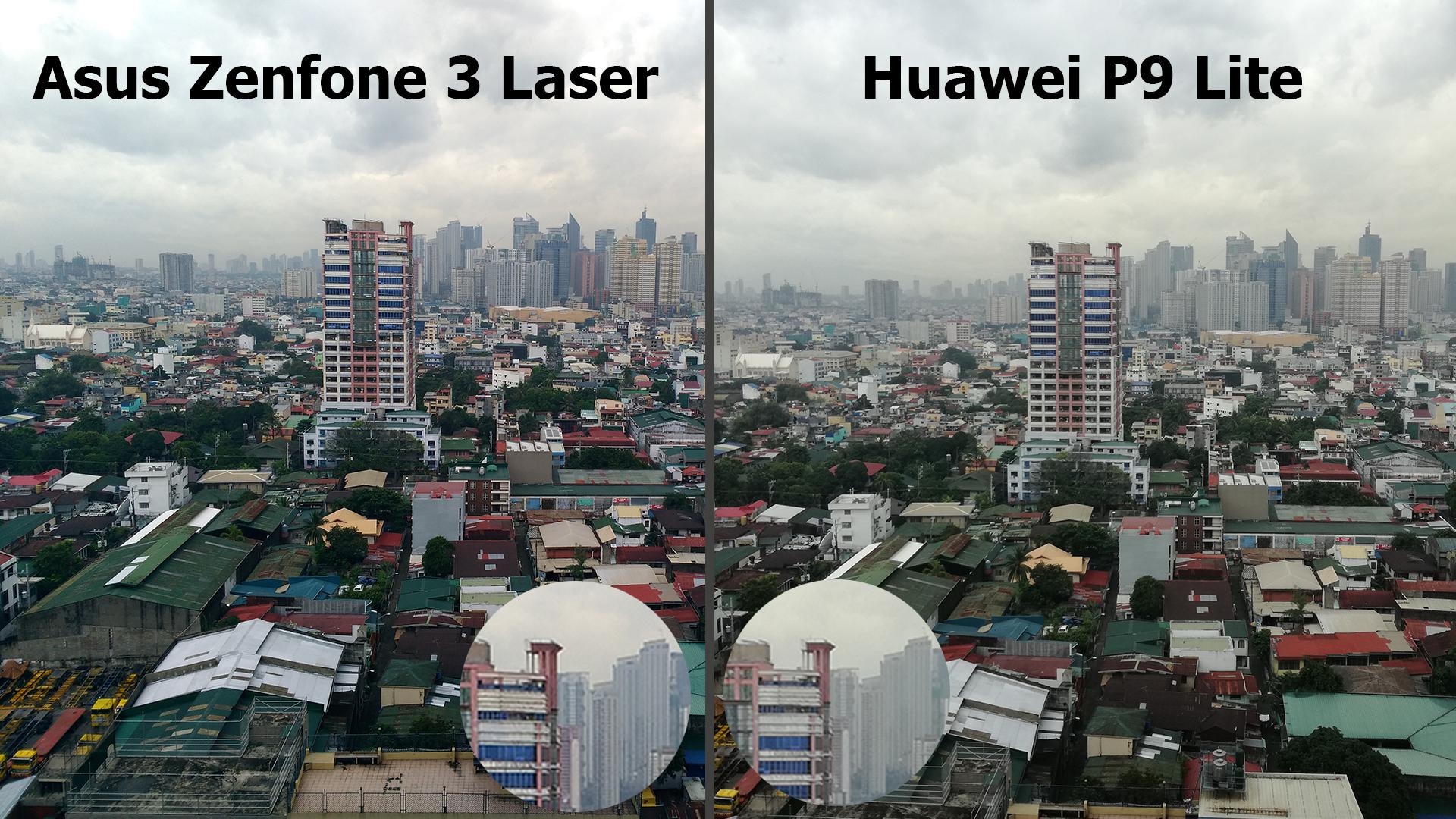 asus zenfone 3 laser vs huawei p9 lite  parison review