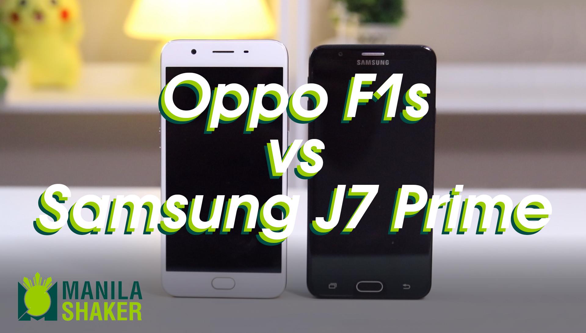 Phone Off Samsung Galaxy J7 Prime Vs OPPO F1s