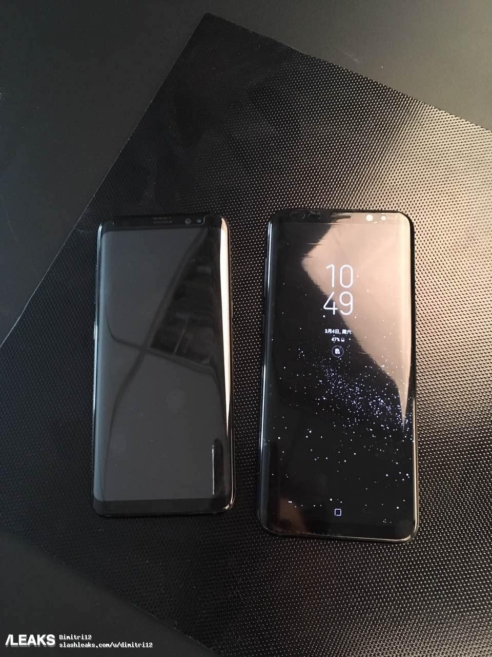Look Samsung Galaxy S8 And S8 Pictured Together