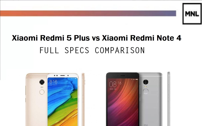 Xiaomi Redmi Note 4 Tips Tricks Features: Xiaomi Redmi 5 Plus Vs Redmi Note 4: Full Specs Comparison
