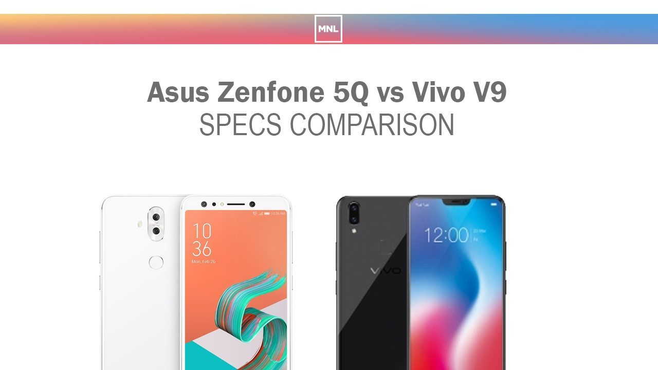 Asus Zenfone 5q Vs Vivo V9 Specs Comparison Red Black Gold And Were Both Recently Unveiled Also The Will Finally Be Launched In Philippines This April 14