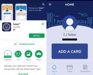 Beep Card Mobile App Lets You Track Card Balance And Other Transactions