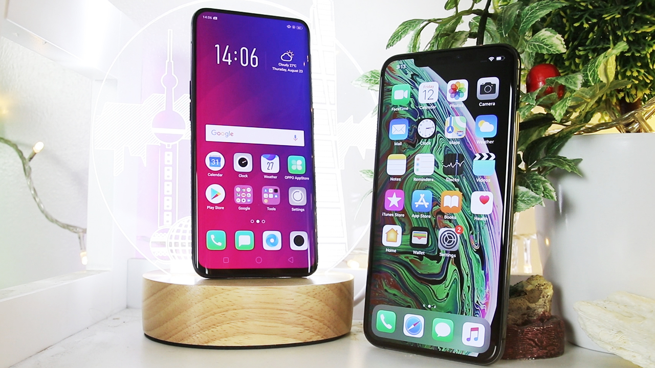 Iphone xs max vs oppo find x