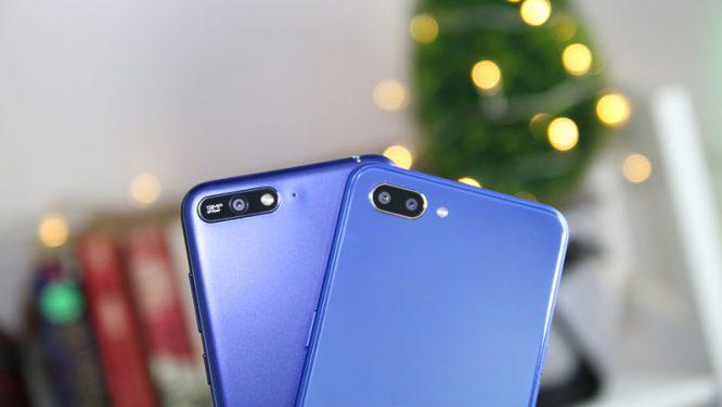 Realme C1 vs Huawei Y6 2018 comparison review camera ph6
