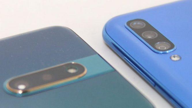 Samsung Galaxy A50 vs OPPO F11 Pro