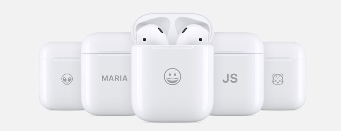First-Gen Apple AirPods with Charging Case