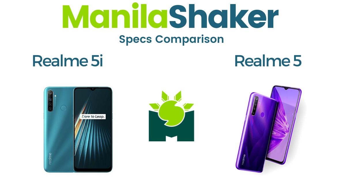 realme-5i-vs-realme-5-specs-comparison