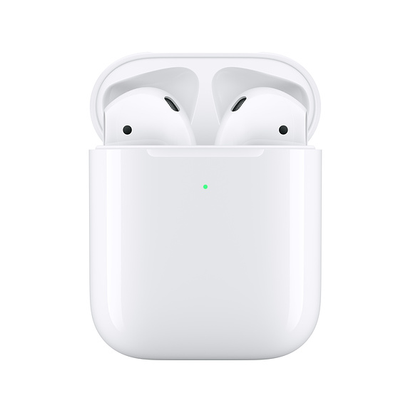Second-Gen Apple AirPods with Wireless Charging Case